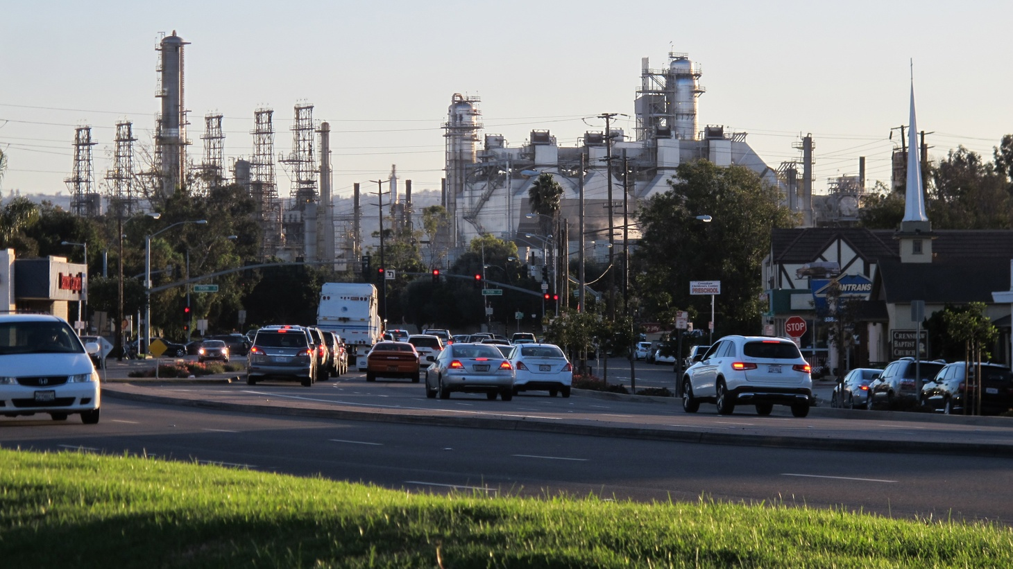 Wildfires, mass shootings, earthquakes. There's a lot to worry about in Southern California. But some residents in LA's South Bay are worried about one more kind of potential disaster, a chemical explosion at a Torrance refinery.