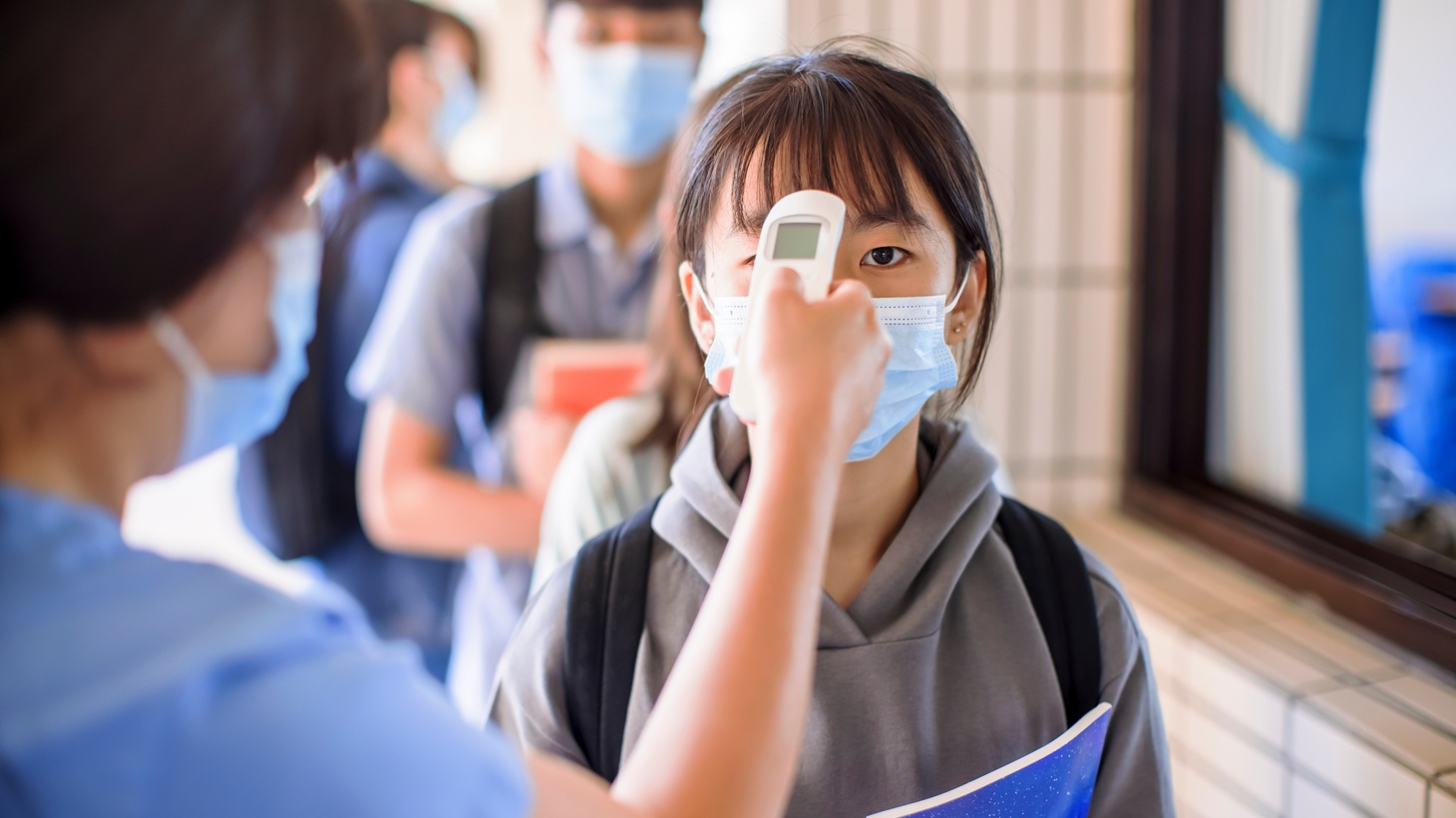 Can temperature screenings help protect children from the coronavirus when LAUSD resumes in-person instruction this month?