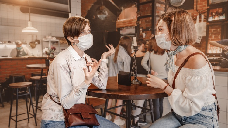 """People should wear masks indoors as """"we don't know how many of the people that do go out to restaurants and go out to movies are vaccinated,"""" says Dr. Veronica Contreras."""