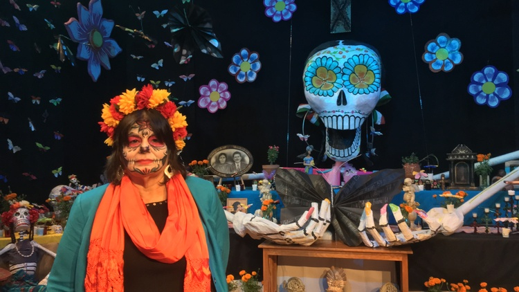 On Tuesday night, some 300 community members and activists kicked off the annual Dia de Los Muertos celebrations in Cypress Park.