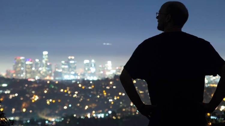 Andy Wardlaw reflects on a night hike in Griffith Park and how it reinvigorated his love for Los Angeles, despite being all alone and on the lookout for coyotes.