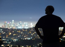 Discovering the beauty of LA at night