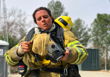 Getting more women to join the fire department