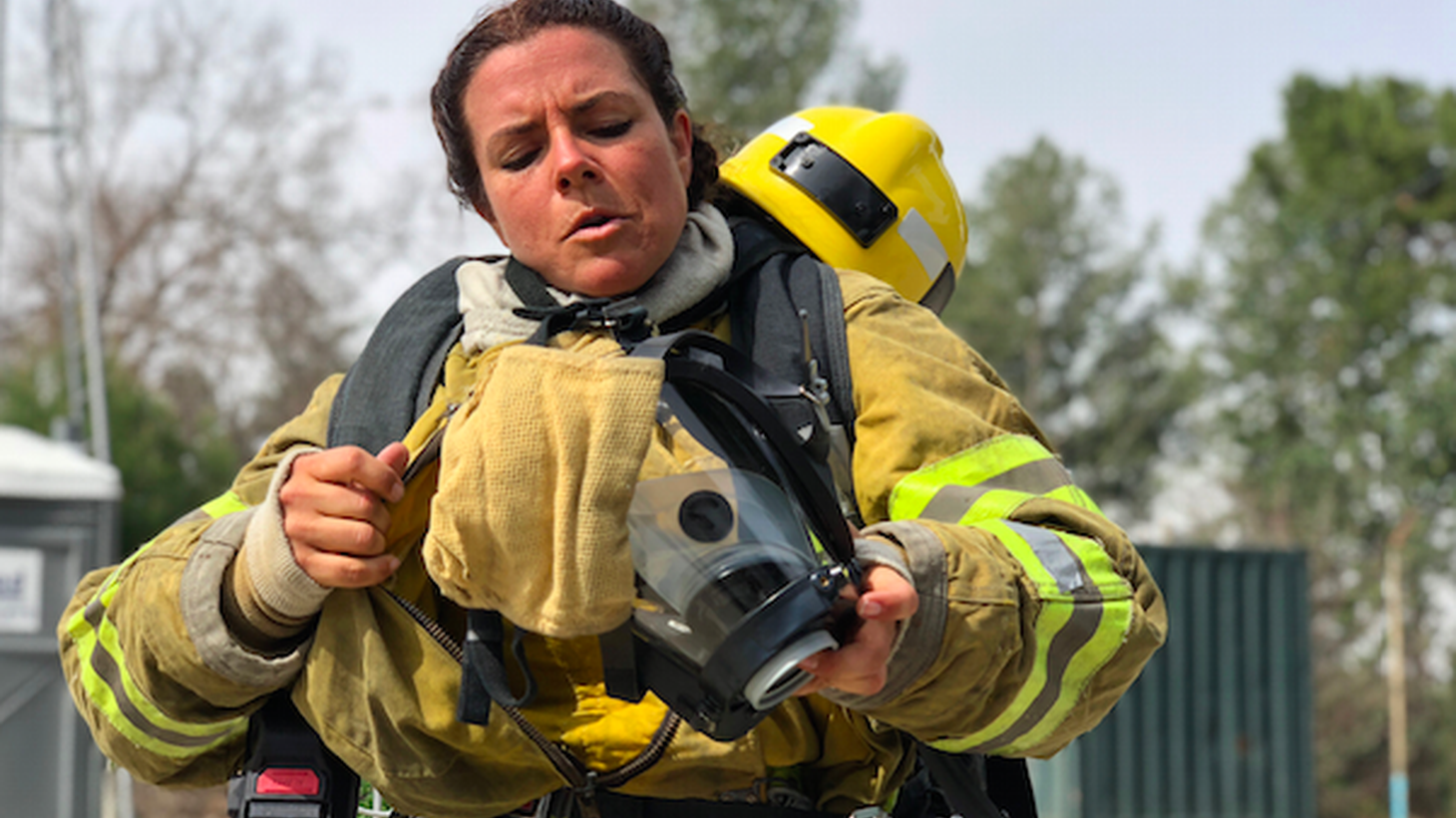 Becoming a firefighter is not an easy task. The competition is fierce and the physical requirements are grueling, especially if you're a woman. The LA County Fire department has faced criticism in the past for its lack of diversity.