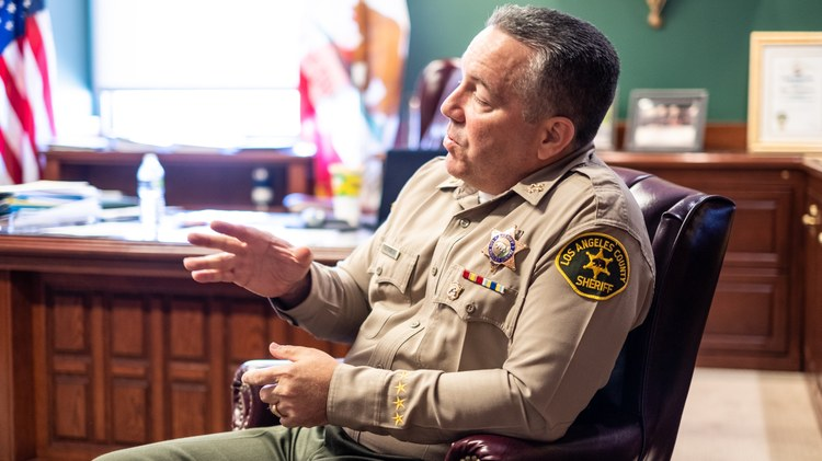 Growing calls for LA Sheriff Villanueva to resign are 'unprecedented'