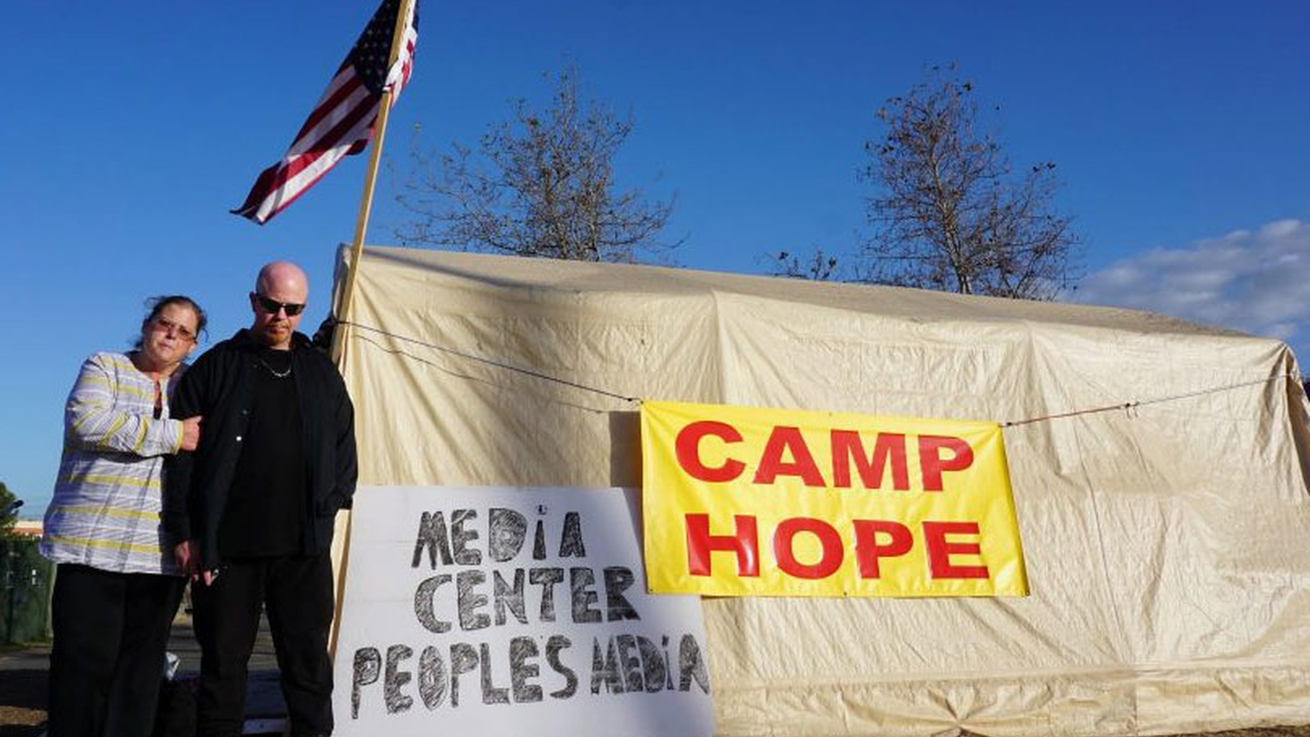 Citing concerns about flooding and squalid conditions in the camps, authorities began an effort last month to evict people from the riverfront and start dismantling the camp sites. But the evictions were stopped last week after U.S.