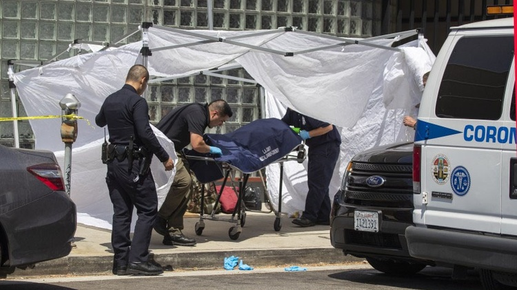 Homeless deaths spiked by 76% in Los Angeles last year. This year's deaths have already outpaced that.