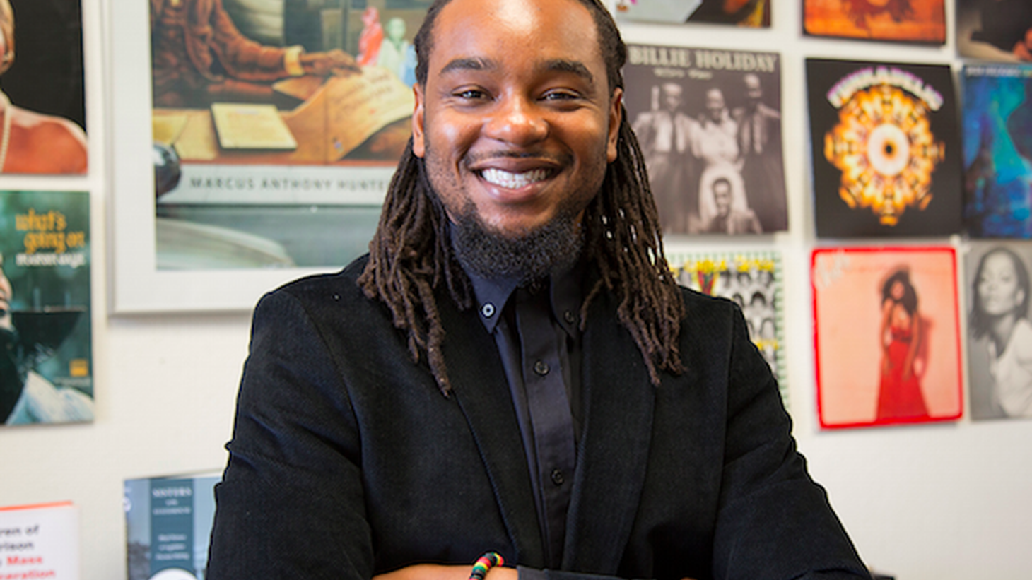 Chair of African American Studies at UCLA, Marcus Anthony Hunter, talks to Chery Glaser about Martin Luther King, Jr. and the Civil Rights Movement.