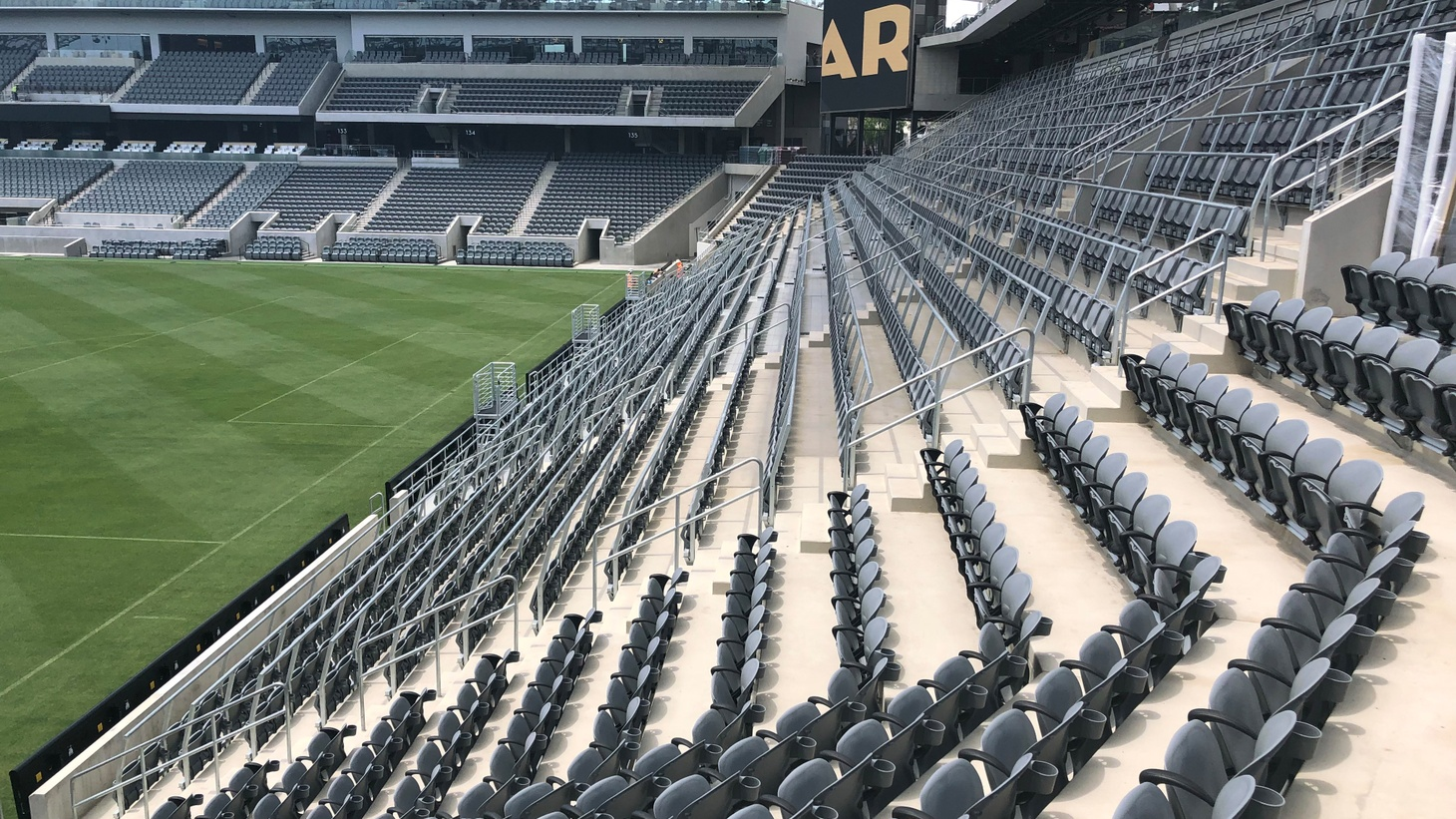 This weekend, the Los Angeles Football Club, L.A.'s new professional soccer franchise, will play its first game in its new home, the Banc of California Stadium.