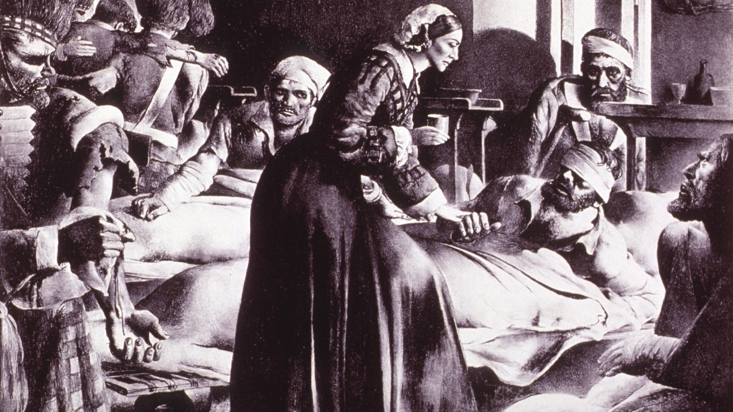 Florence Nightingale is considered to be the mother of modern nursing.