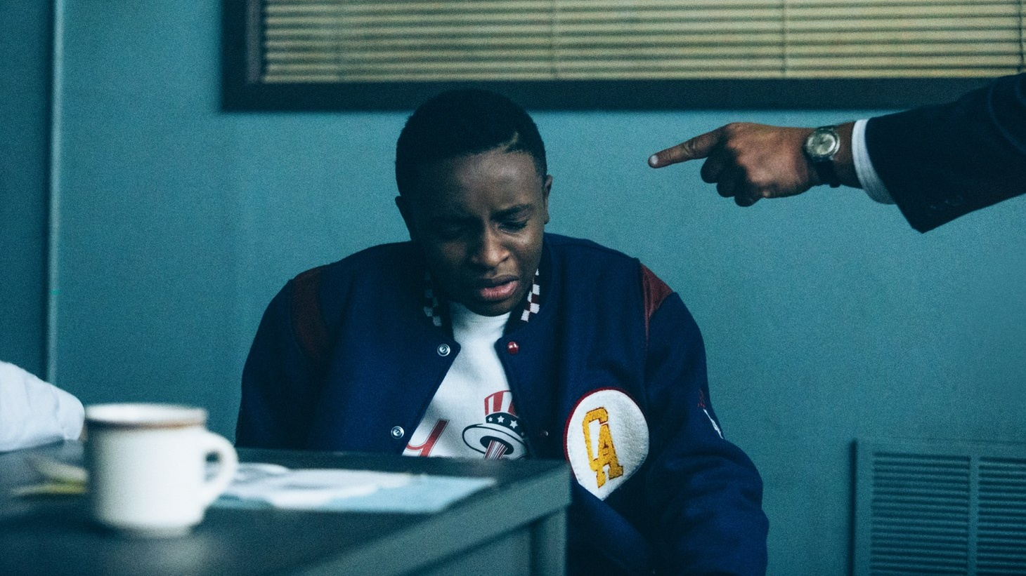 """A scene from """"When They See Us."""""""
