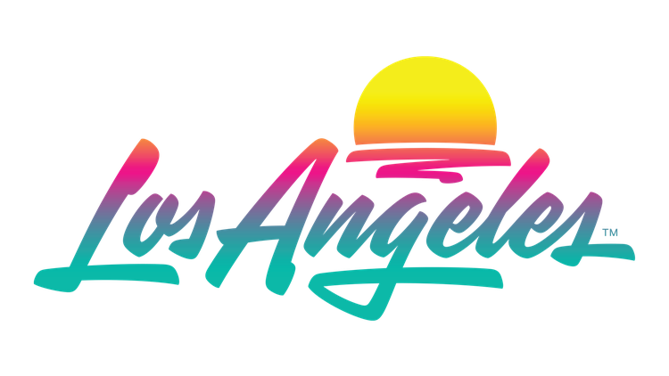 The LA Tourism and Convention Board recently updated the town's official logo for the first time in almost a decade.