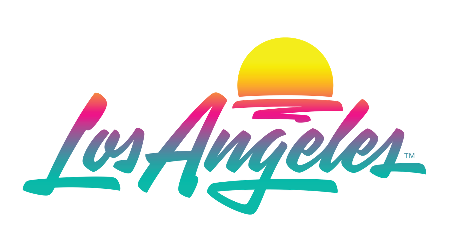 The new Los Angeles logo debuted in June. While some say its neon hues conjure an 80s or vapor wave vibe, branding expert Sasha Strauss says it contains dynamic energy that references coastal sunsets and a feeling of optimism.