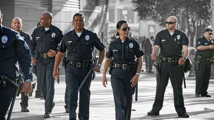 The LA City Council voted Wednesday to      slash $150 million      from the Los Angeles Police Department's budget.