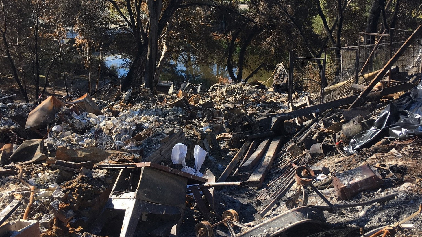 Monique Quigley's home in Malibou Lake was destroyed on the Woolsey Fire.