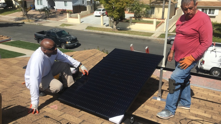 Low income neighborhoods work to seize opportunities in California's green economy