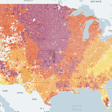 NPR's California Newsroom partnered with Stanford University's Environmental Change and Human Outcomes Lab to map the increasing prevalence of wildfire smoke across the United States.