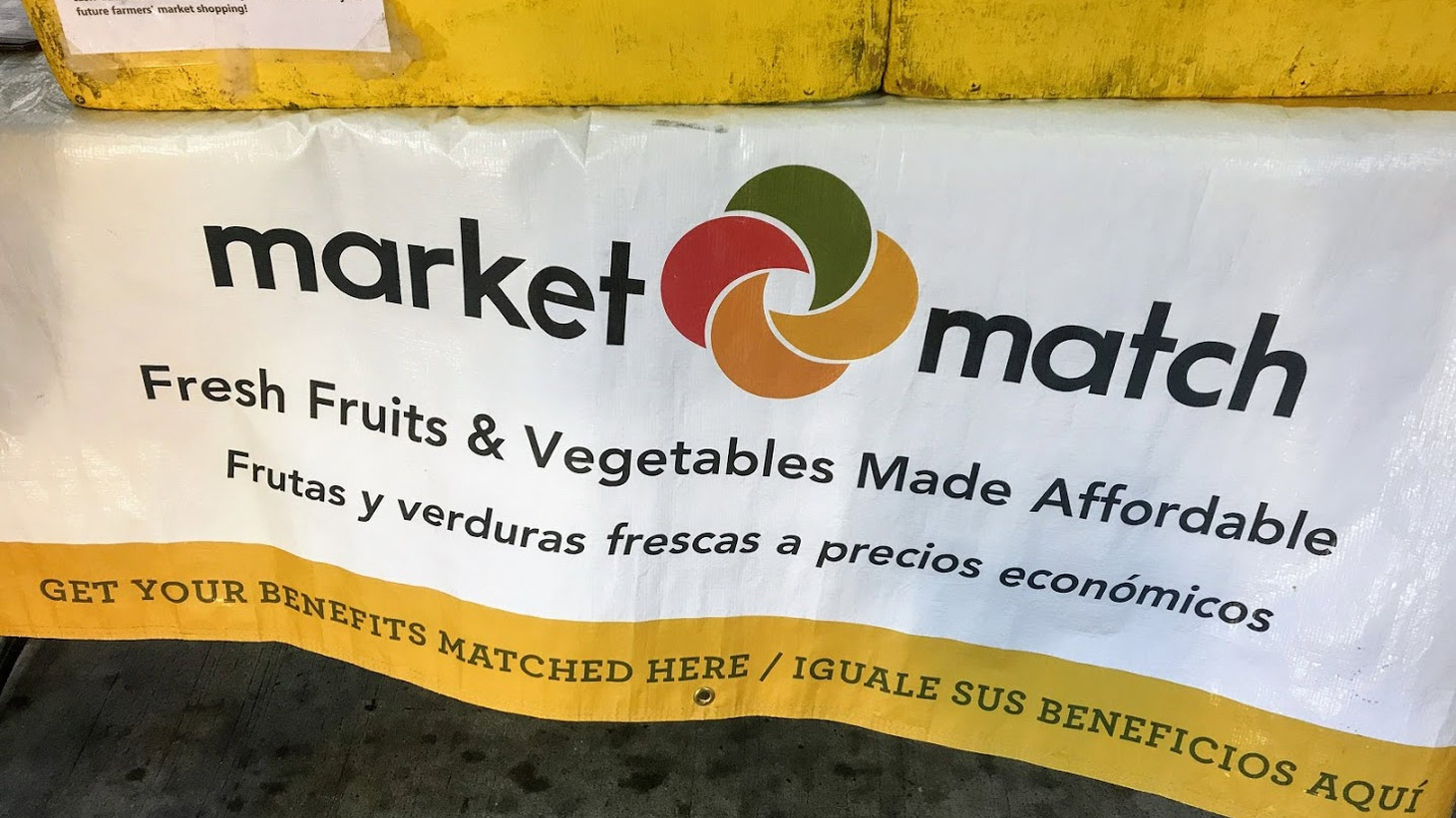 "A program called ""Market Match"" incentivizes food stamp shoppers to buy more fruits and veggies at local farmers markets."