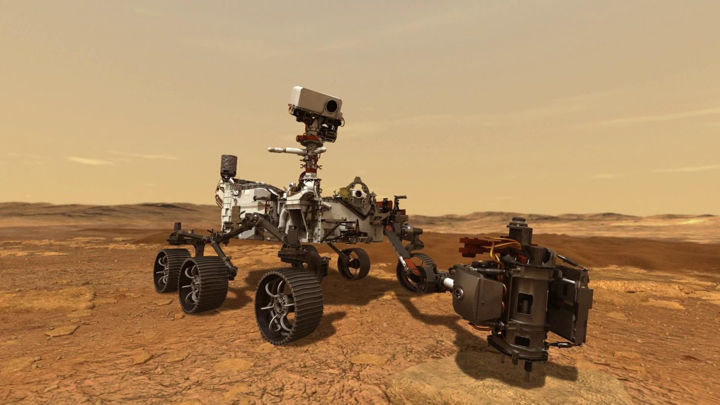 Mars Perseverance rover.