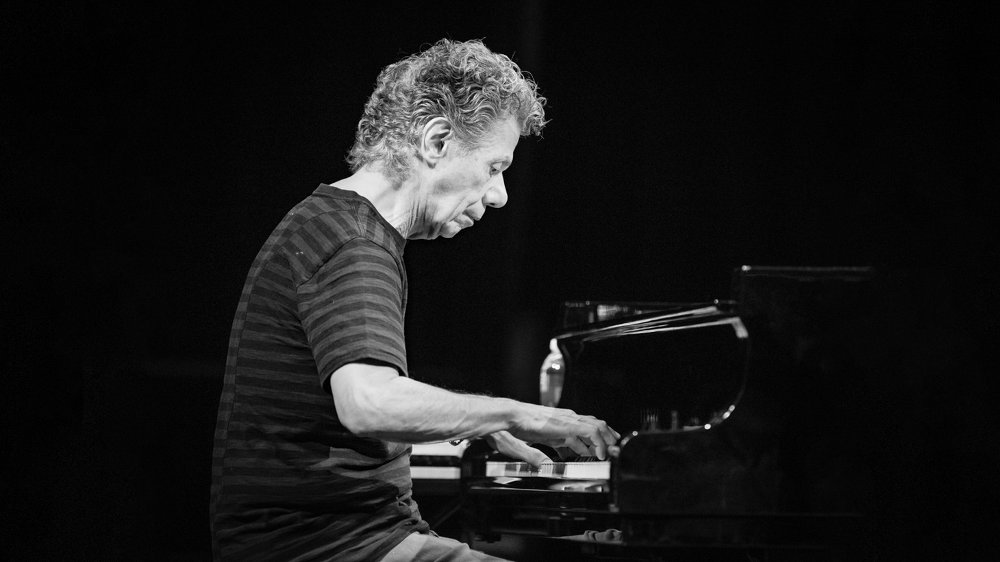 Chick Corea with Chick Corea's Akoustic Band in Kongsberg Musikkteater. The concert was part of Kongsberg Jazzfestival and took place on 06. July 2018 in Kongsberg.