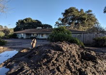 Mud from Montecito fertilizes a Los Olivos vineyard