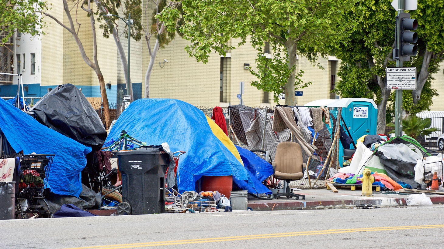 """Los Angeles City Council President Nury Martinez says she wants homeless encampments restricted in her district because her constituents, including immigrant, working-class families, can enjoy public spaces. """"They don't have the luxury to take their kids to Disneyland on the weekends, so they go across the street and enjoy the local parks. ... People get married at our parks. People enjoy barbecues and birthdays, and even Quinceañeras."""""""