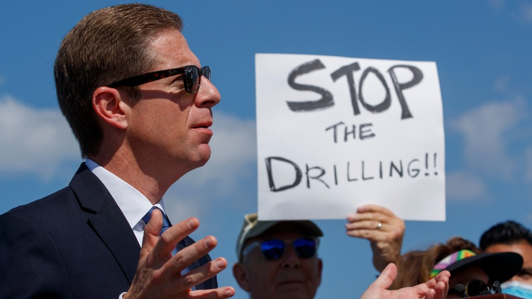 Only foolproof way to prevent oil spills? Ban offshore drilling, says CA Congressman Mike Levin