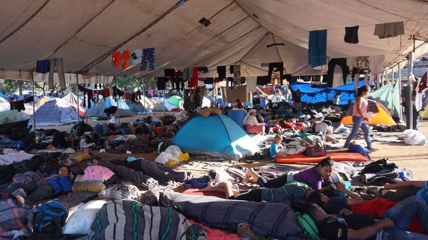Saul Gonzalez reports from Tijuana on the migrant crisis at the border.
