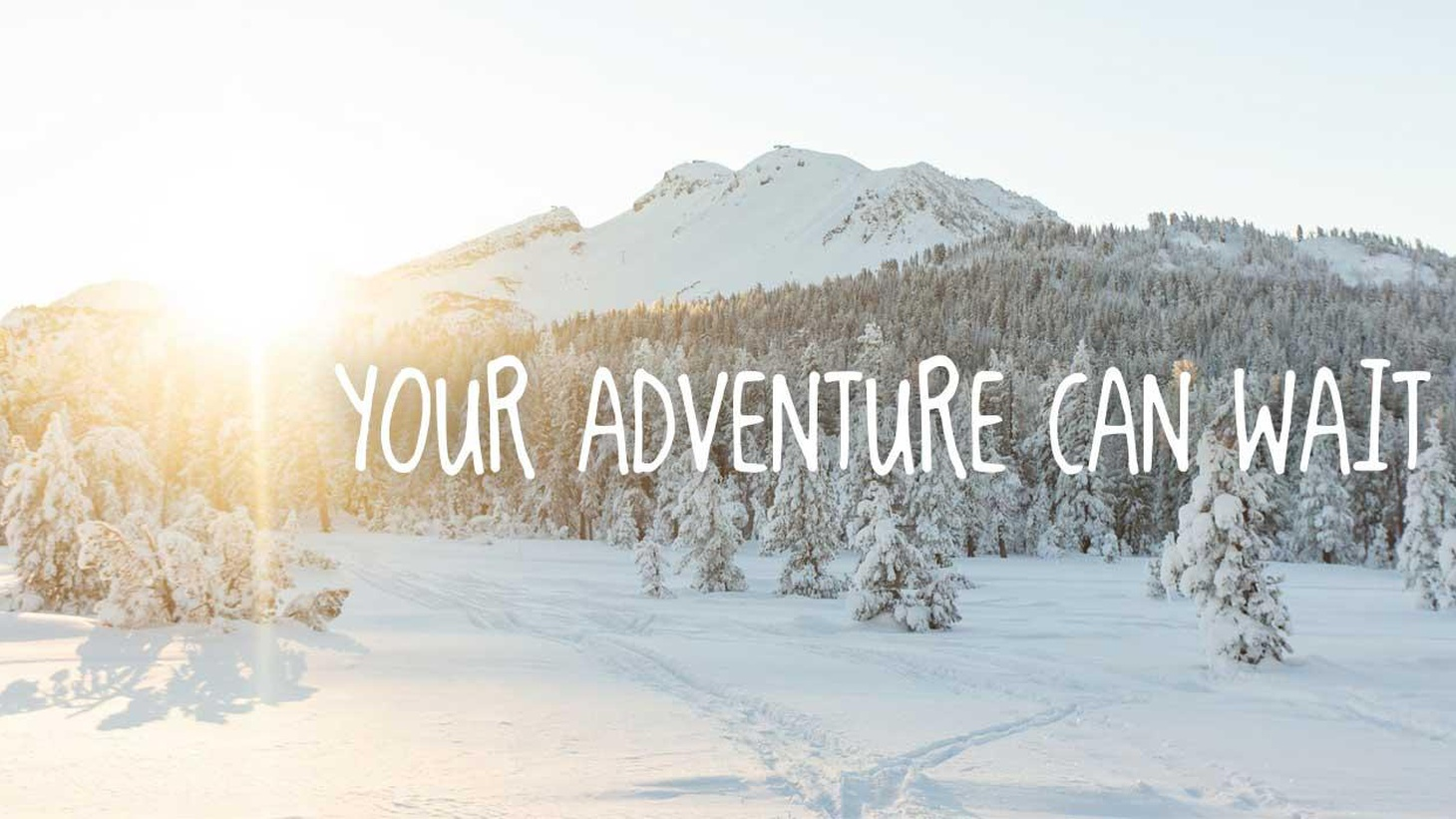 The current homepage on Mammoth Lakes Tourism's website. Photo courtesy of Mammoth Lakes Tourism.