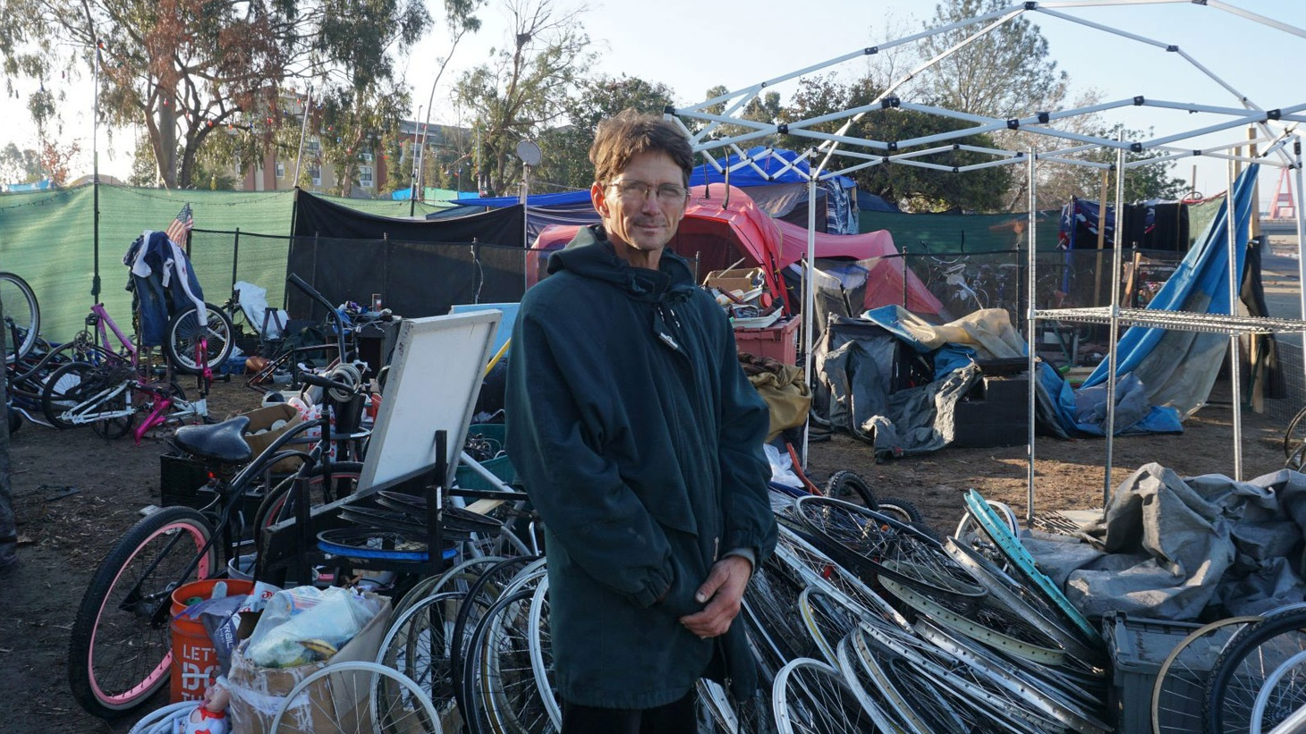 People living in hundreds of makeshift shelters and tents along the Santa Ana River are getting ready to be moved.