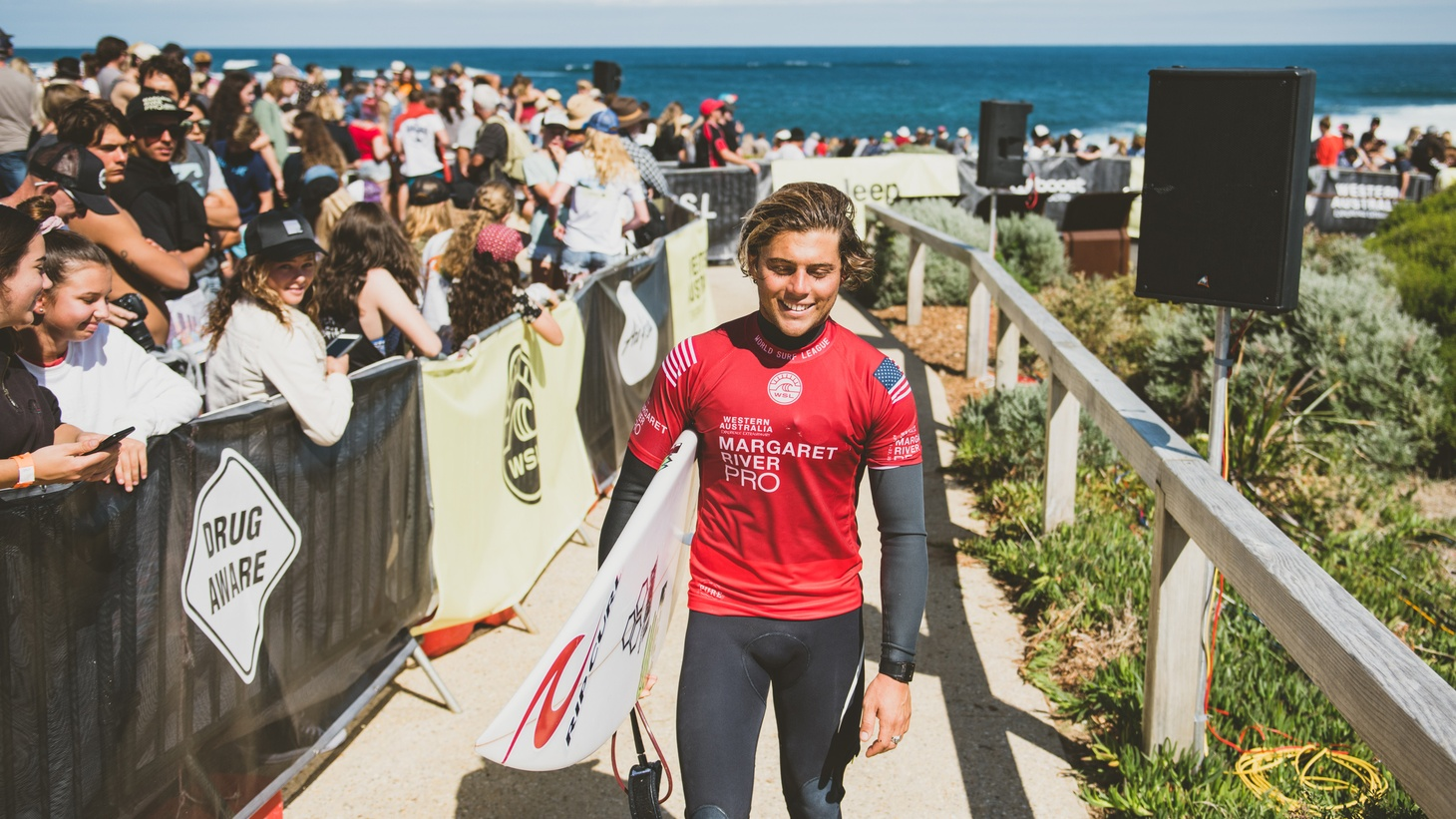 Conner Coffin is no longer a teenage surfer impressing the locals at Rincon Beach. He's now ranked as the 16th best surfer in the world, and the only Santa Barbara local in the men's World Surf League.