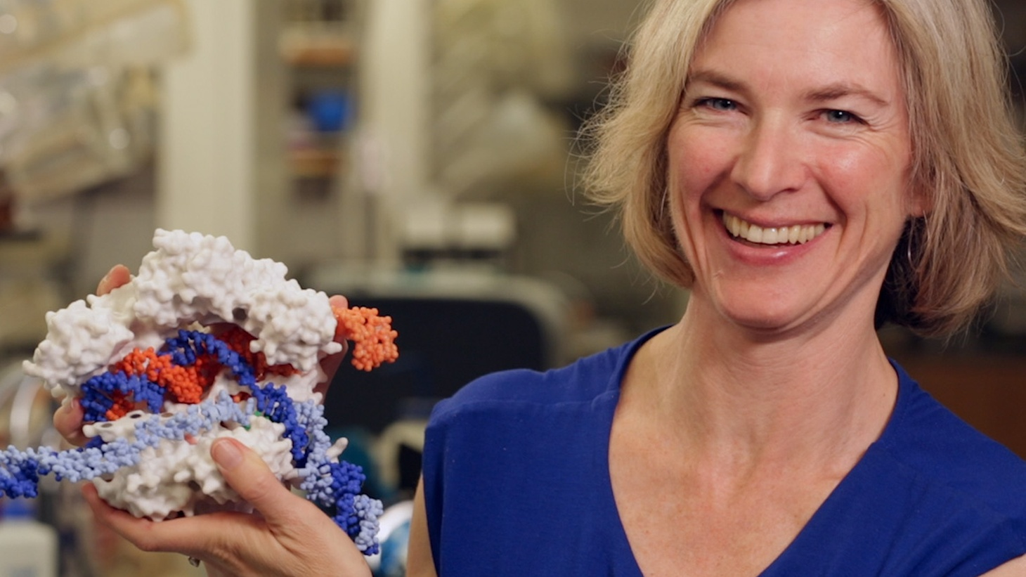 UC Berkeley biochemist Jennifer Doudna and her colleagues say they can edit any organism's DNA using an RNA-guided protein found in bacteria.