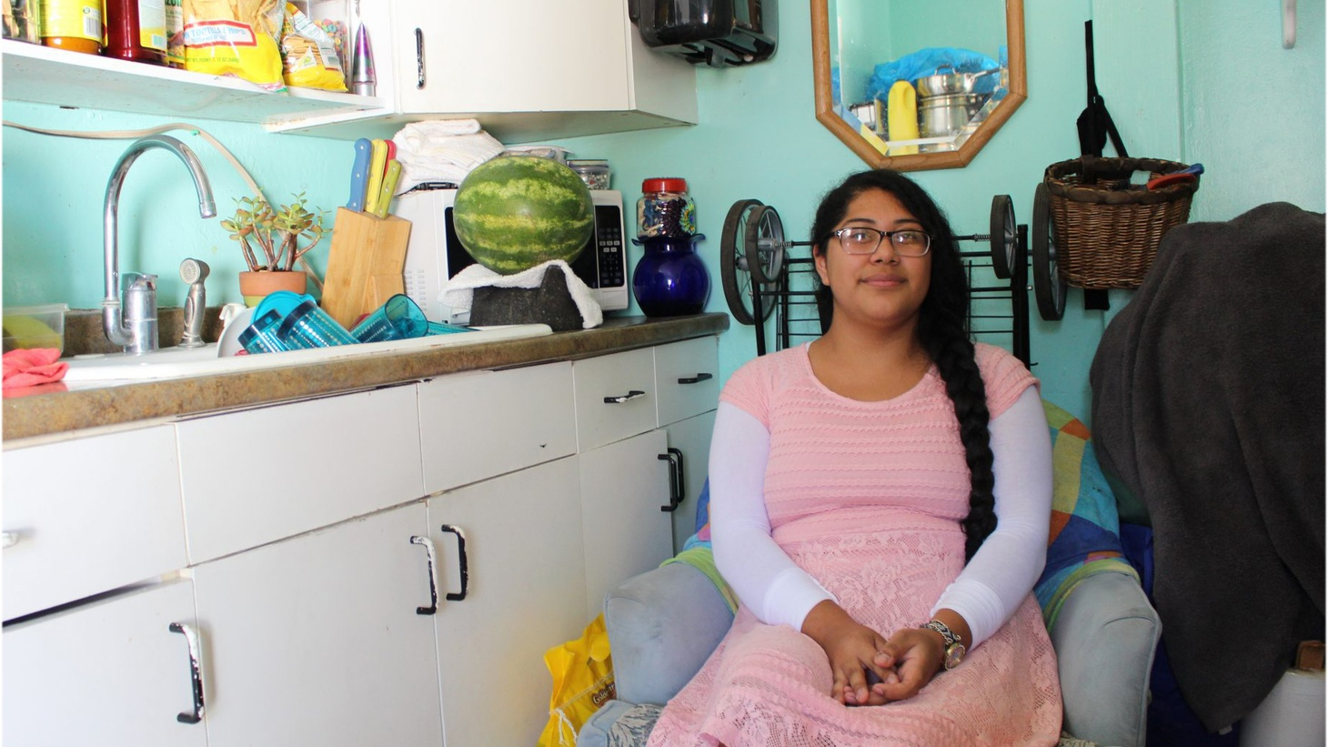 With vacancy rates low and rent prices high in Santa Barbara, low income families are getting pushed out on the streets or into substandard housing. That affects kids, too. According to state data, one in eight Santa Barbara County public school students are homeless. Meet one of them.