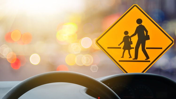 """As LAUSD campuses reopened on August 16, roads got clogged. """"We have over 25,000 teachers all getting back on the roadways. There are about 50,000 staff."""