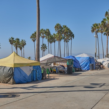 The Venice Family Clinic is slamming LA County Sheriff Alex Villanueva and others for their call to clear out unhoused people from Venice Beach boardwalk by July 4.