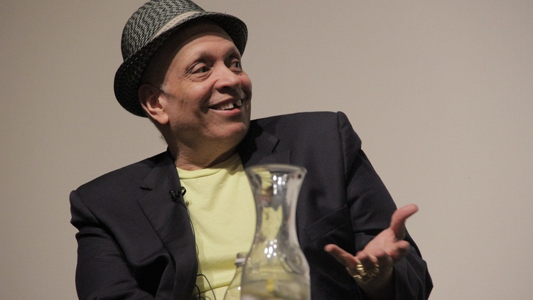 Author and screenwriter Walter Mosley says he left a writer's room over a complaint about his language.