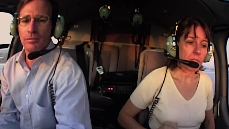 'Whirlybird' film shows how married couple Bob Tur and Marika Gerrard changed TV news from the air