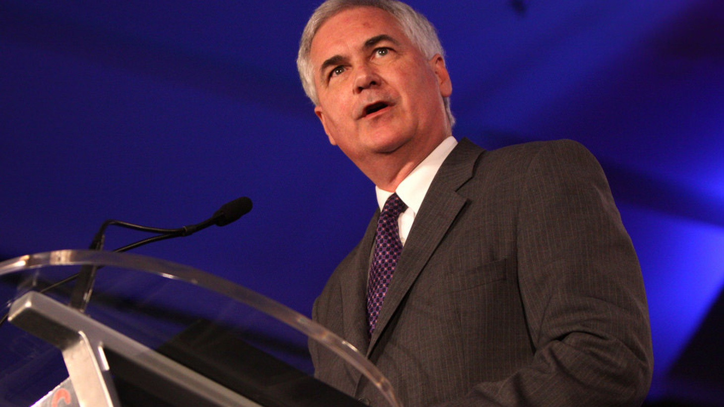 KCRW's Larry Perel chats with California GOP Rep. Tom McClintock about why he voted against his party's tax plan.