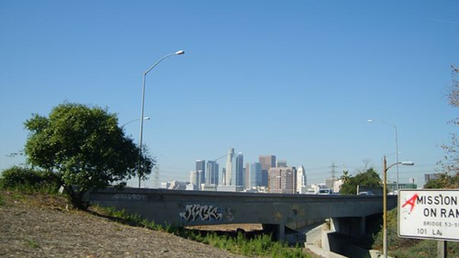 """""""Downtown Los Angeles."""""""