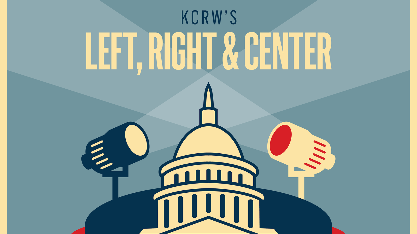 Left, Right & Center goes on the road for a special live night-time broadcast on Tuesday, March 12 from 7 to 8 pm at Occidental College's Keck Auditorium.  Listen here to the special extra half hour of audience questions and discussion.