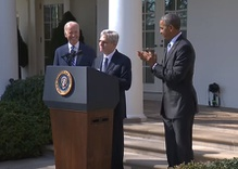A Supreme Court Nominee, and Obama Nudges Bernie to Get Out