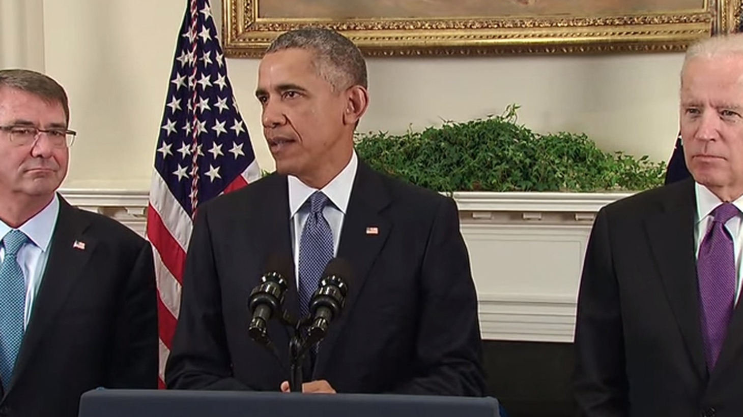 Obama announces we will not withdraw from Afghanistan after all.