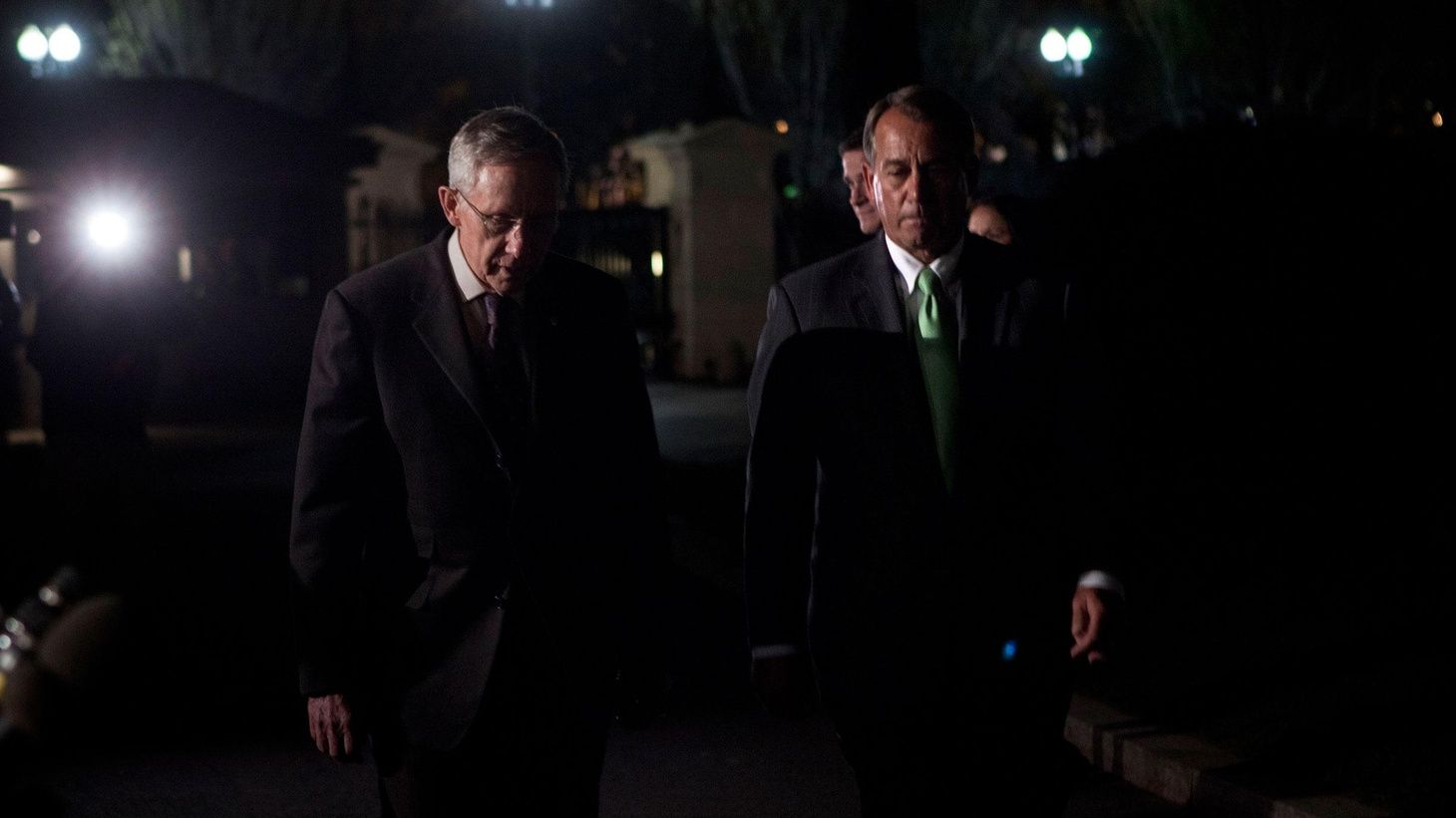 At air time, with no sign of a budget deal, a government shutdown looms large. Also, the GOP budget proposal for FY 2012, the Democrats' response, and the latest on Libya.