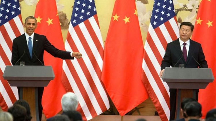 Obama in China, a showdown over Keystone, immigration wars and net neutrality.