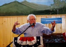 Competing for Republican Values; Bernie Surges