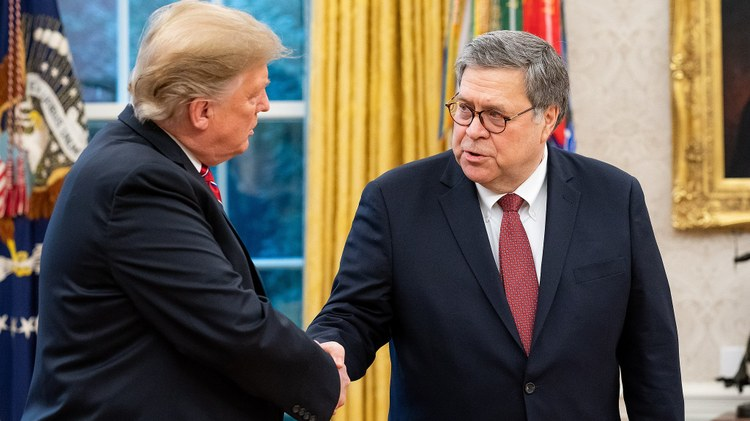 Democrats have contempt for Attorney General Barr