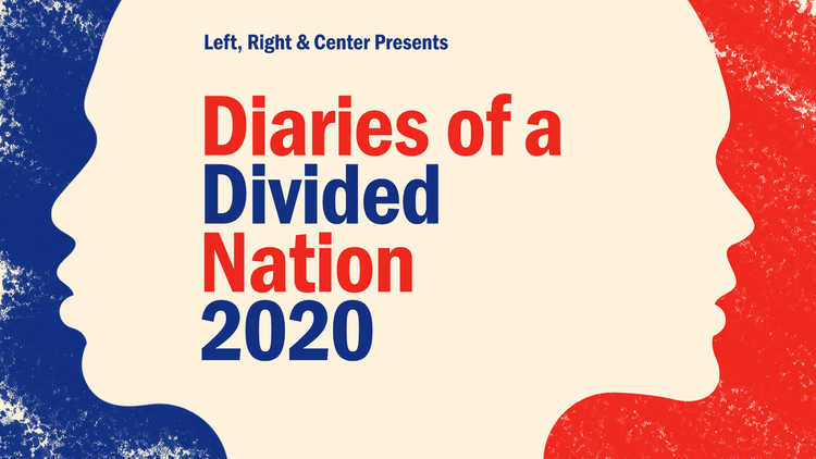 Diaries of a Divided Nation: 2020 is a people's history of the United States recorded in real time.