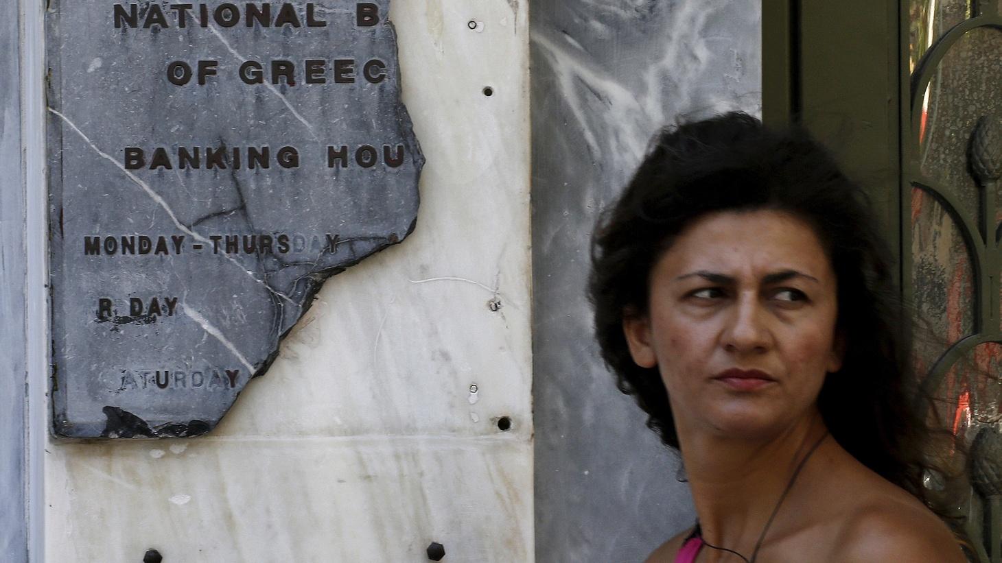 Greece lurches toward a bailout deal, again.
