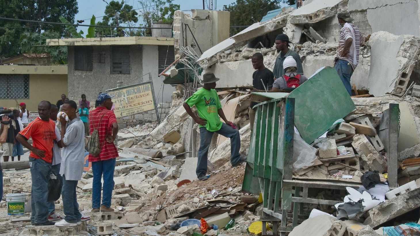 This week's tragic earthquake in Haiti allows us to consider whether this as much a story about poverty and failed governance as it is of natural disasters. Does it allow us a chance to show human compassion and empathy? Also, will bankers ever learn the evils of their ways? Is the Banking Commission a kangaroo court? Is it true that the only thing wrong with capitalism is capitalists? Are we witnessing socialism for the rich and capitalism for the poor? The worship of free markets or a complete betrayal? Plus, will the Massachusetts special election make the difference between a healthcare plan or dissolution of that dream?