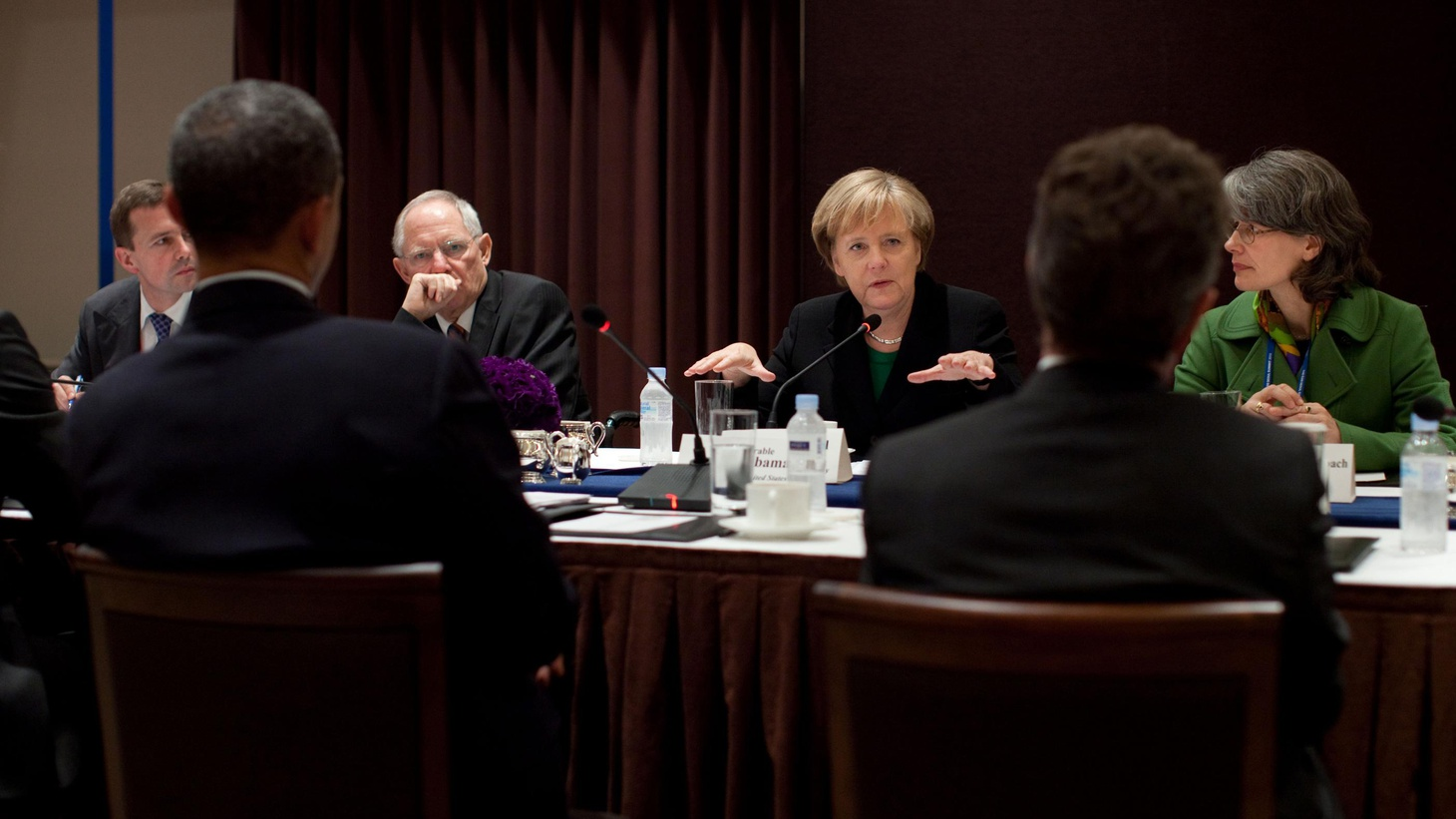 Sound and fury over Healthcare.gov, listening in on Angela Merkel, and JP Morgan.